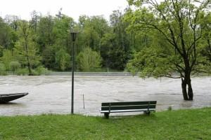Hochwasser Frühling 2015